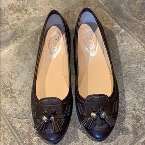 Classic TODS Brown Loafers